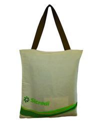 Ecobag 0,32x0,40 em Algodão Cru Impresso em Silk