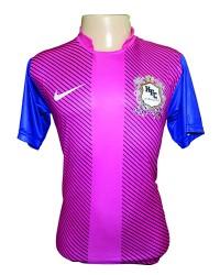 Camisa em Dry Fit Esportivo Sublimado com gola padre